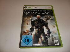 XBOX 360 per Enemy Territory: Quake Wars