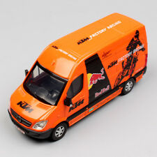 1:38 Red Bull KTM Factory Racing Team MERCEDES SPRINTER MOTOCROSS Van Cars Toys
