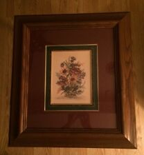 A. RENEE DOLLAR SIGNED AND NUMBERED PRINT FRAMED UNDER GLASS 141/1950