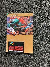 Instruction Booklet  Street Fighter II   Nintendo SNES   - SNSP - S2 - UKV