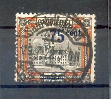 Saar Firmenlochung Perfin Eh (A9465