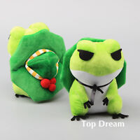 Game Tabi Kaeru 旅かえる Travel Frog Plush Toy Soft Stuffed Animal Doll 8'' Gift