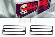 2x Rear Tail Light Guard Grills for Mercedes W463 W461 G Class Professional BK