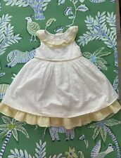GIRLS Vintage style Laura Ashley broderie anglaise dress 24mths