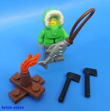 LEGO®  City  /  Figur mit Grillfeuer und Fisch