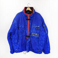 Vintage Rare 90s FILA SKI Team Italia Blue puffer winter jacket L / XL size