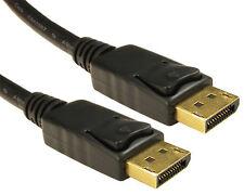 3M Cavo DisplayPort Piombo Bloccaggio Mac PC Laptop Monitor Porta