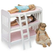 Baby Doll Bunk Beds Bed Fits American Girl Triple Ladder Bedding Set Mattress