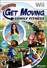 JumpStart: Get Moving Family Fitness -- Sports Edition (Nintendo Wii, 2010)
