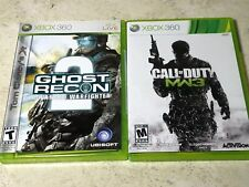 Ghost Recon 2 And Call Of Duty Modern Warfare 3 Xbox 360 Lot of 2 Games