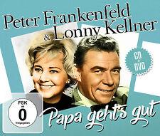 CD DVD Peter Frankenfeld e Lonny Kellner Papi Geht's Bene CD+dvd Set