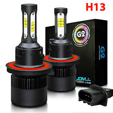 JDM ASTAR 2x H13 9008 High Power LED Headlight Kit CSP 6000K High/Low Beam Bulbs