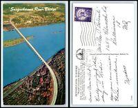 PENNSYLVANIA Postcard - Pennsylvania Turnpike - Susquehanna River Bridge B10