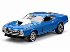 1971 Ford Mustang Blue ProStock 1:18 SunStar 3616