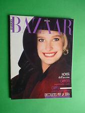 Harper's BAZAAR Italia Agosto 8 1987 August Glaviano Krizia Schon Pagetti Franco