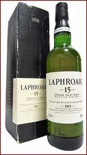 LAPHROAIG 15 y. Pre-Royal Warrant Old Bottling ISLAY SINGLE MALT SCOTCH WHISKY