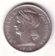 PORTUGAL 50 centavos plata 1913 Republica Portuguesa