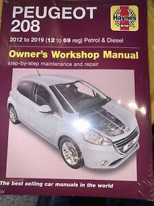 Peugeot 208 Petrol & Diesel (2012 to 2019) 12 to 69 reg Haynes Repair Manual