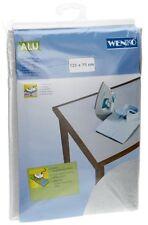 Wenko 1025111100 Coperta da stiro con trama alluminio - extra lungo, (J8H)