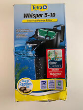 New listing Tetra Whisper Internal Power Filter 5-10 G Aquarium Fish Reptiles Turtle Quiet