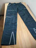 Vintage Panno d'or 31x33 Dark Green Parachute Pants Made in USA
