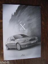 Jaguar X-Type Pressemappe / Press-kit, 2.2001, GB