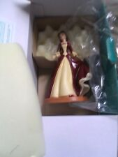 """WDCC """"The Gift of Love"""" Holiday Princess Belle Beauty and the Beast Figurine"""
