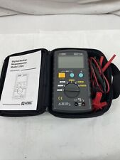 Aemc Digital Megohmmeter Model 1026 W Test Leads Needle Amp Clamp Manual Case