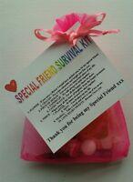 SPECIAL FRIEND Survival Kit Birthday Keepsake Gift Present Christmas Fun