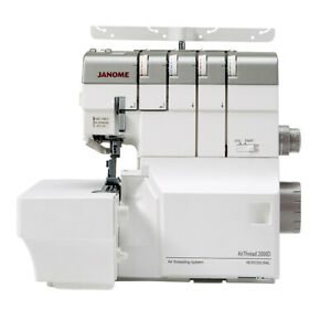 New Janome AT2000D Professional Over Locker, no more looper threading.