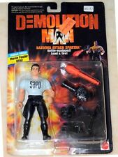 DEMOLITION MAN ~ BAZOOKA ATTACK SPARTAN ~ Sylvester Stallione ACTION FIGURE