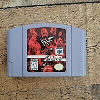 WWF Attitude  Nintendo 64, 1999 WWE N64 Cart ONLY Authentic & Tested Game