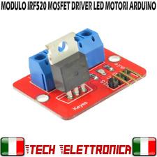 Modulo IRF520N MOSFET driver led motori module IRF520 arduino raspberry