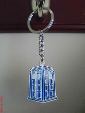 Doctor Who Tardis keyring - Police Box keychain