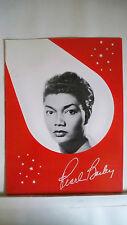 PEARL BAILEY Souvenir Program CONCERT 1959-60