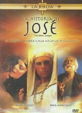 SEALED - La Historia De Jose DVD NEW Historias De La La Biblia BRAND NEW