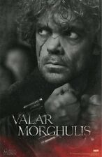 GAME OF THRONES POSTER ~ TYRION CUFFS 24x36 TV Lannister Peter Dinklage Valar