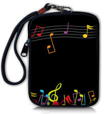 Music Note Digital Camera Case Bag Pouch For Sony Cybershot Kodak Samsung Nikon