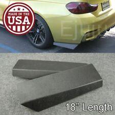 "18"" Rear Bumper Lip Apron Splitter Diffuser Valence Bottom Line For  VW Porsche"