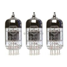 New Gain Matched Trio (3) Mullard Reissue CV4004 / 12AX7 Low Noise Vacuum Tubes