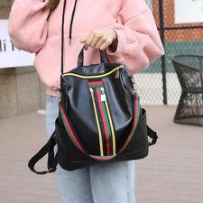 Cool Girls Women PU Leather Backpack Travel School Backpack Laptop Rucksack US
