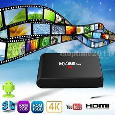 MX95 PLUS S905X 2G+16G 4K Android 6.0 Smart TV Box Quad Core WIFI Media Player