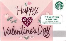 Starbucks Happy Valentine's Day 2017 Gift Card Never Swiped NO $ VALUE