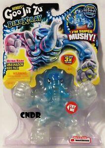 Heroes of Goo Jit Zu Dino-XRay ULTRA RARE CHASE Smashadon GLOW IN THE DARK bones