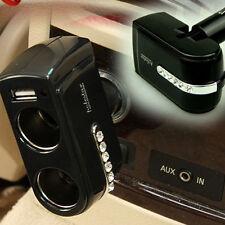 Auto Ladegerät Zigarettenanzünder mit USB Port Autoladegerät Adapter Neu