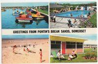 Pontin's Brean Sands, Somerset Postcard, B367