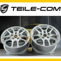"""TOP+ORIG. Porsche 986 Boxster S II 17"""" Felgen Satz 7J ET55 +8,5J ET50 /wheel set"""