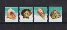 2017 Seashells Sc #5167-70 Coil Stamp Issue Set of 4 Singles