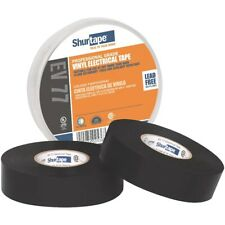 """New listing Shurtape - Professional Grade, Ul Listed, Black Electrical Tape (3/4"""" x 66')"""