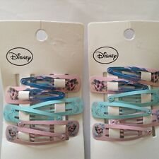 NWT Sz: 3Y+, 6 Pairs Frozen Hair Clips, Multi Colors